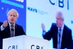 Prime Minister Boris Johnson's CBI Conference speech
